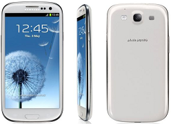 Android 4.0 Samsung Galaxy S3 cell phone